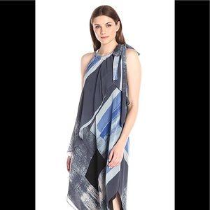 Rachel Rachel Roy Brushed Square Print Scarf Dress